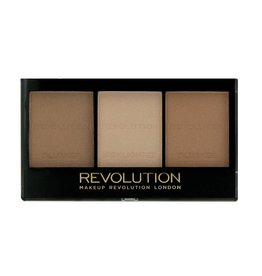 Makeup Revolution Ultra Brightening Contour Kit - Ultra Light/Medium