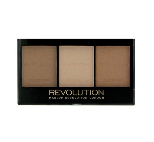 Makeup Revolution Ultra Sculpt & Contour Kit - Ultra Light/Medium