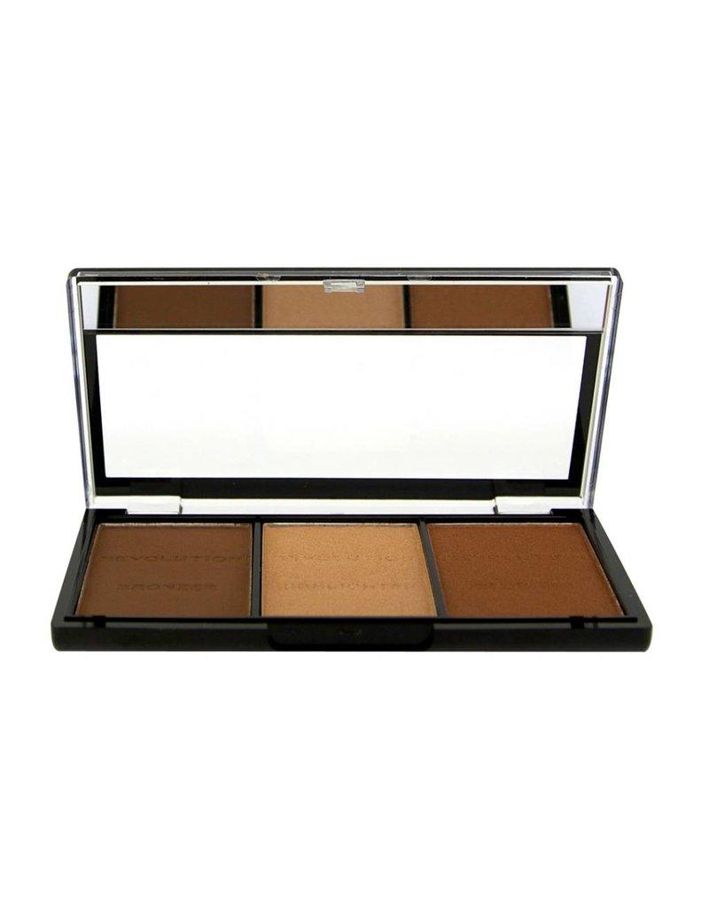 Makeup Revolution Ultra Brightening Contour Kit - Ultra Light/Medium