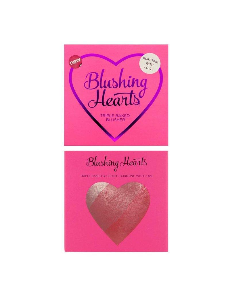 Makeup Revolution Blushing Hearts Blusher Bursting with Love - Blush