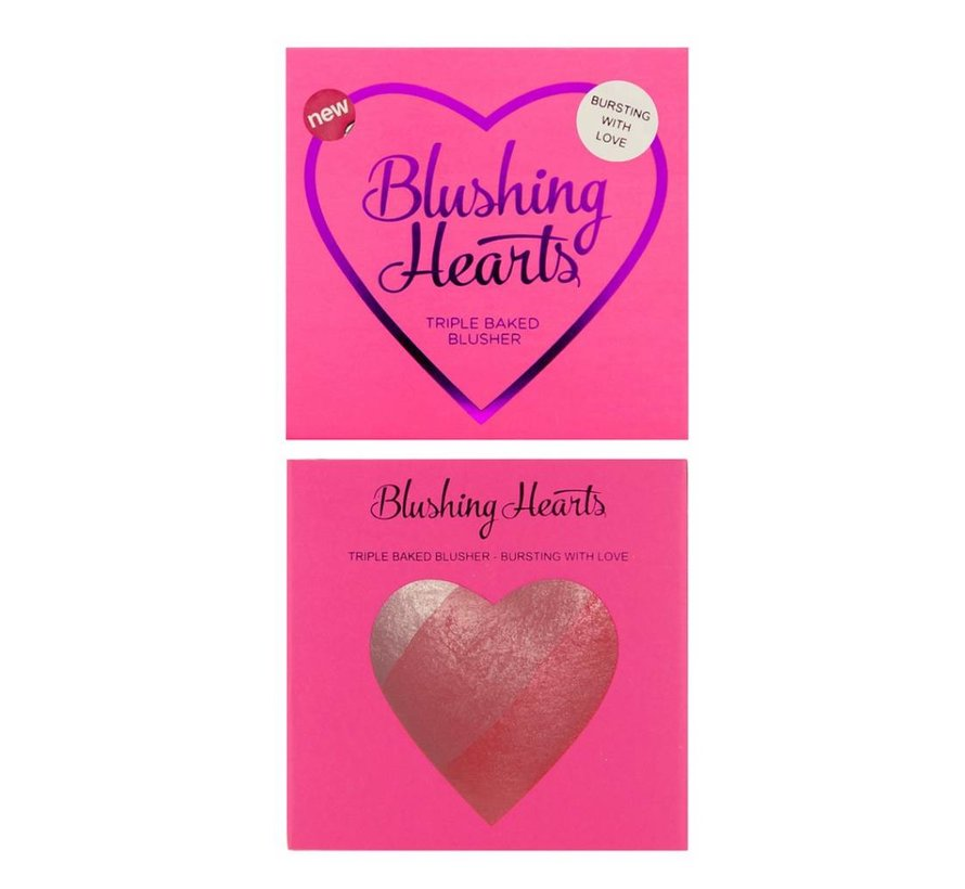 Blushing Hearts Blusher Bursting with Love - Blush