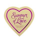 Makeup Revolution Blushing Hearts Bronzer Hot Summer of Love - Bronzer