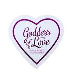 Makeup Revolution Blushing Hearts Highlighter Goddess of Faith - Highlighter