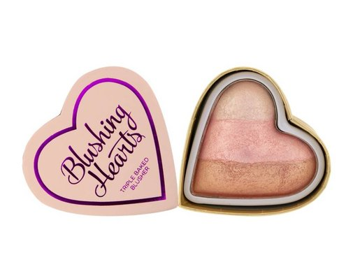 Makeup Revolution Blushing Hearts Blusher Iced Hearts