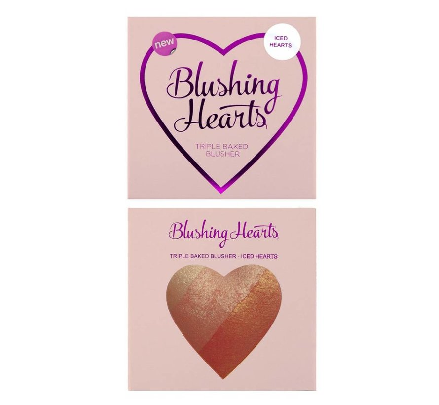 Blushing Hearts Blusher Iced Hearts - Blusher