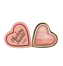 Makeup Revolution Blushing Hearts Blusher Peachy Pink Kisses