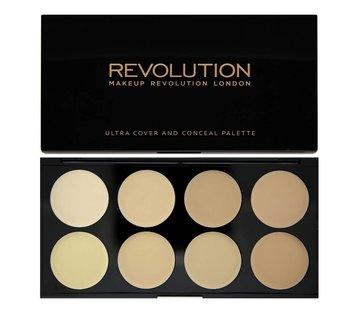Makeup Revolution Ultra Cover and Concealer Palette - Light