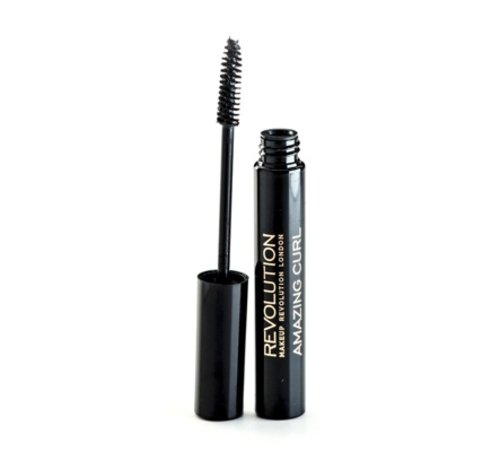 Makeup Revolution Amazing Curl Mascara - Black - Mascara