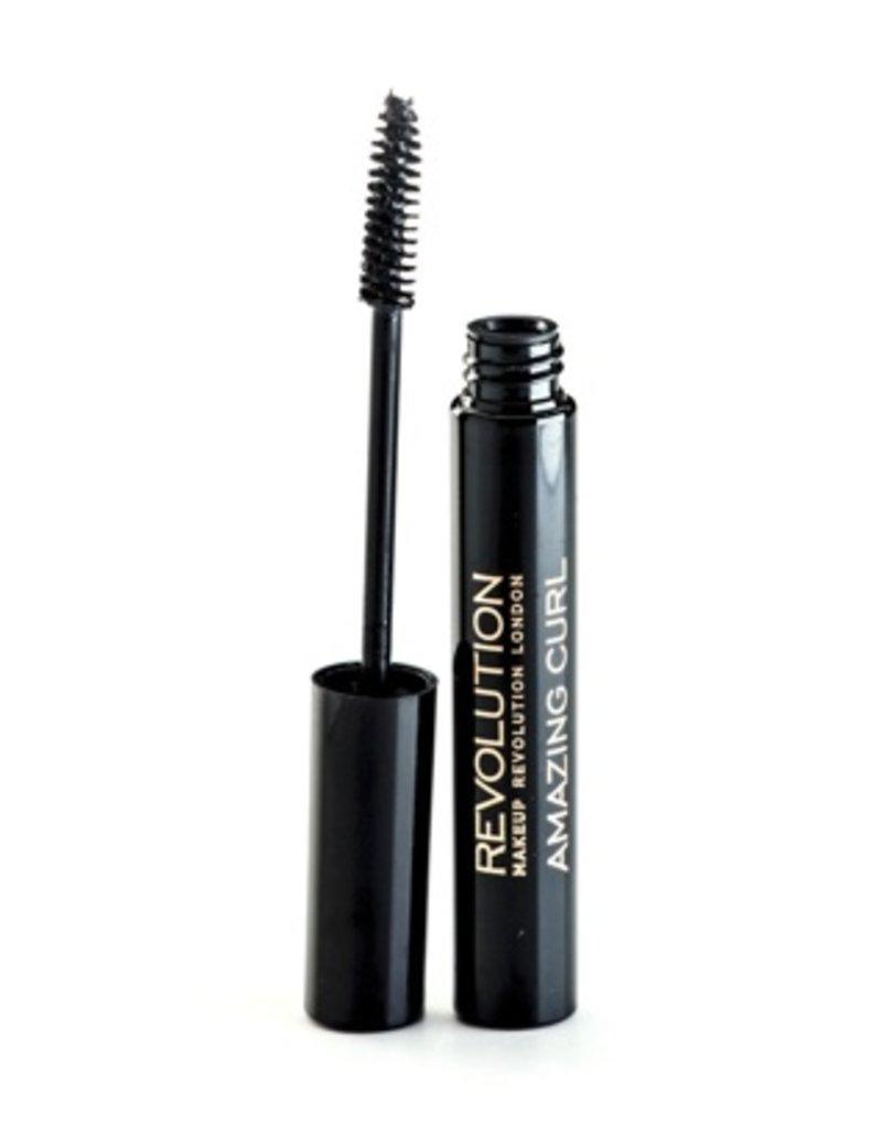 Makeup Revolution Amazing Curl Mascara - Black - Mascara