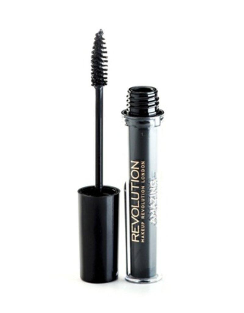 Makeup Revolution Amazing Volume Mascara - Black - Mascara