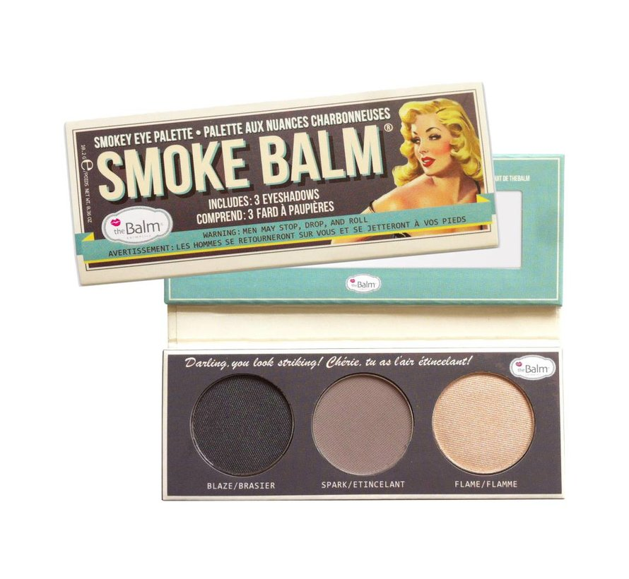 Smoke Balm #1 - Smokey Eye Palette - Oogschaduw