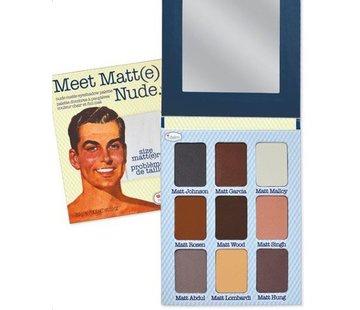 theBalm Meet Matt(e) Nude