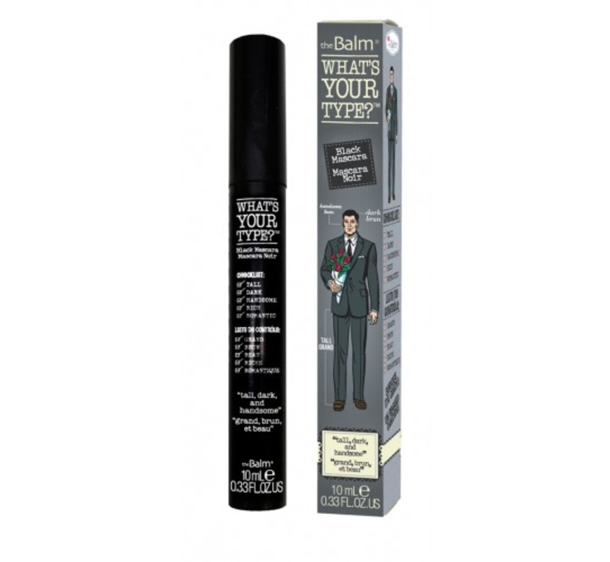 What's Your Type - Tall, Dark & Handsome - Mascara