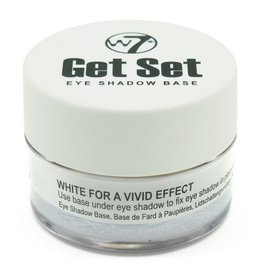 W7 Make-Up Get Set Eye Shadow Base - White