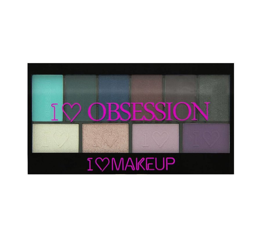 I Heart Obsession Palette - Wild is the Wind - Oogschaduw
