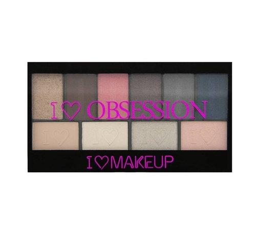 Makeup Revolution I Heart Obsession Palette - Paris - Oogschaduw