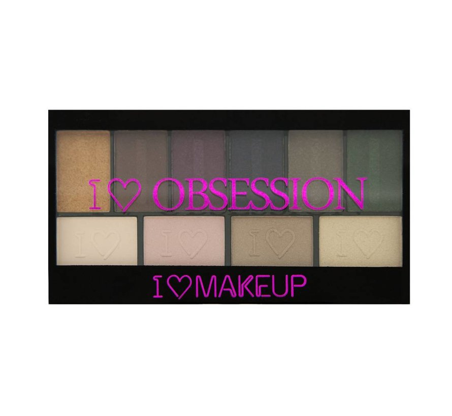 I Heart Obsession Palette - West End Girls - Oogschaduw