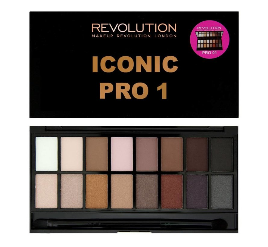 Salvation Palette Iconic Pro 1 - Oogschaduw