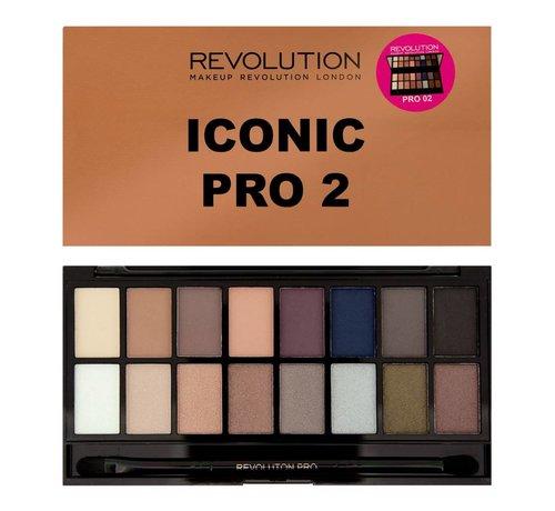 Makeup Revolution Salvation Palette Iconic Pro 2 - Oogschaduw