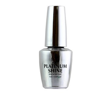 W7 Make-Up Platinum Shine - 2 in 1 Base & Top Coat