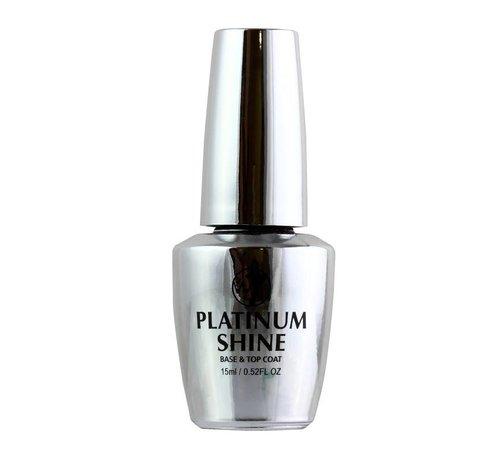 W7 Make-Up Platinum Shine - 2 in 1 Base & Top Coat