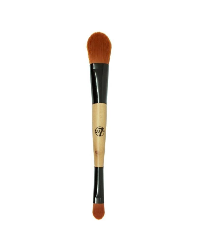 W7 Make-Up Duo Foundation & Concealer Brush