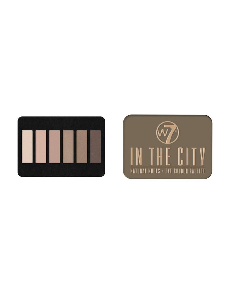 W7 Make-Up In the City Palette - Oogschaduw