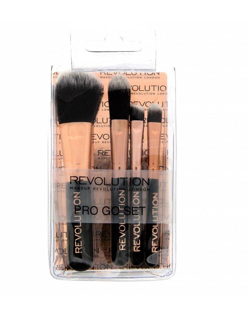 Makeup Revolution Pro Go Set - Kwastenset