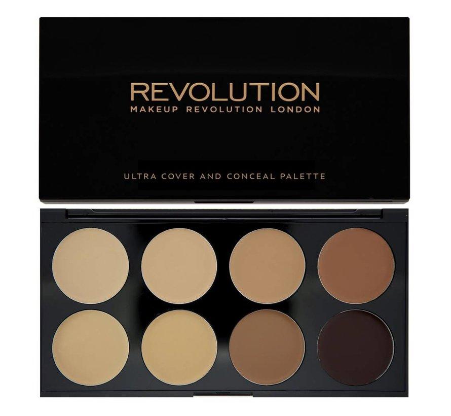 Ultra Cover and Concealer Palette - Medium/Dark - Concealer