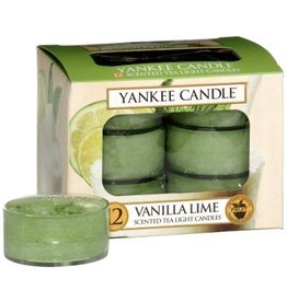 Yankee Candle Vanilla Lime - Tea Lights