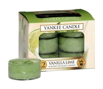 Yankee Candle Vanilla Lime - Tea Lights