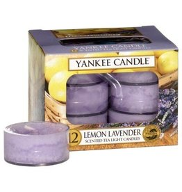 Yankee Candle Lemon Lavender - Tea Lights
