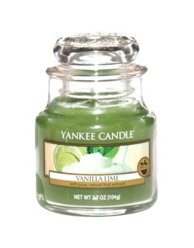 Yankee Candle Vanilla Lime - Small Jar