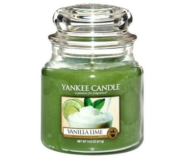 Yankee Candle Vanilla Lime - Medium Jar
