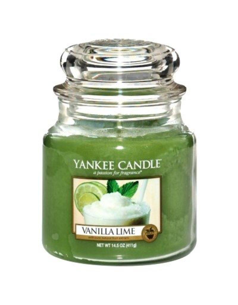 Yankee Candle Vanilla Lime - Medium Jar