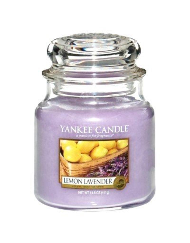 Yankee Candle Lemon Lavender - Medium Jar