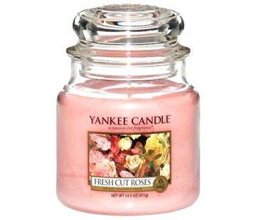 Yankee Candle Fresh Cut Roses - Medium Jar
