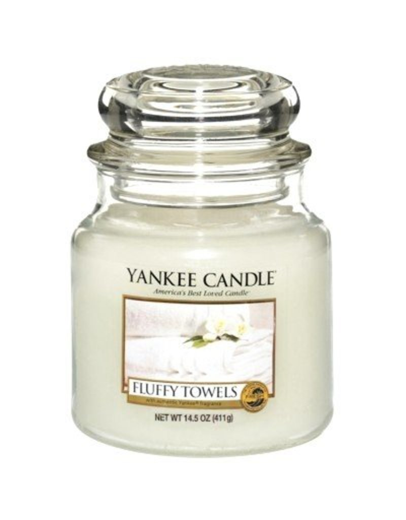 Yankee Candle Fluffy Towels - Medium Jar