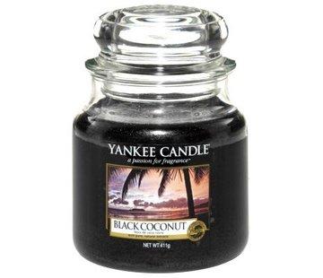 Yankee Candle Black Coconut - Medium Jar