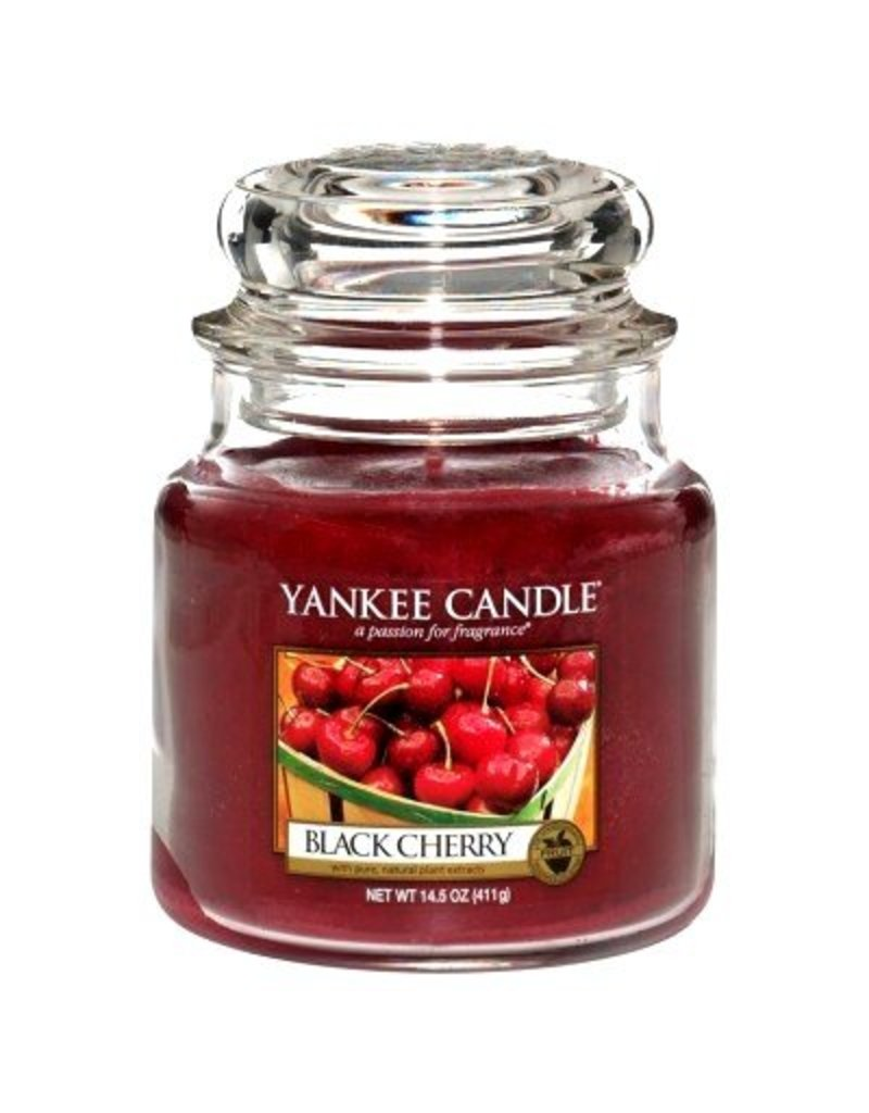 Yankee Candle Black Cherry - Medium Jar