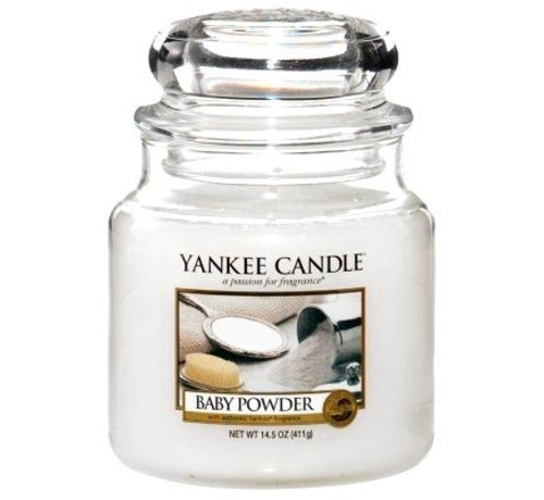 Yankee Candle Baby Powder - Medium Jar