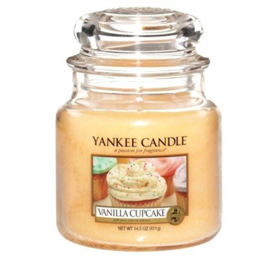 Vanilla Cupcake - Medium Jar