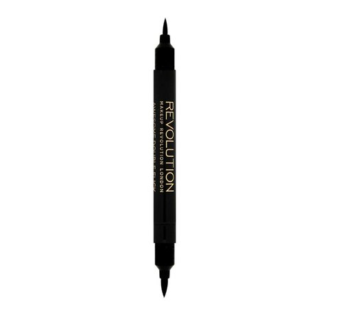 Makeup Revolution Awesome Double Flick Thick & Thin - Eyeliner
