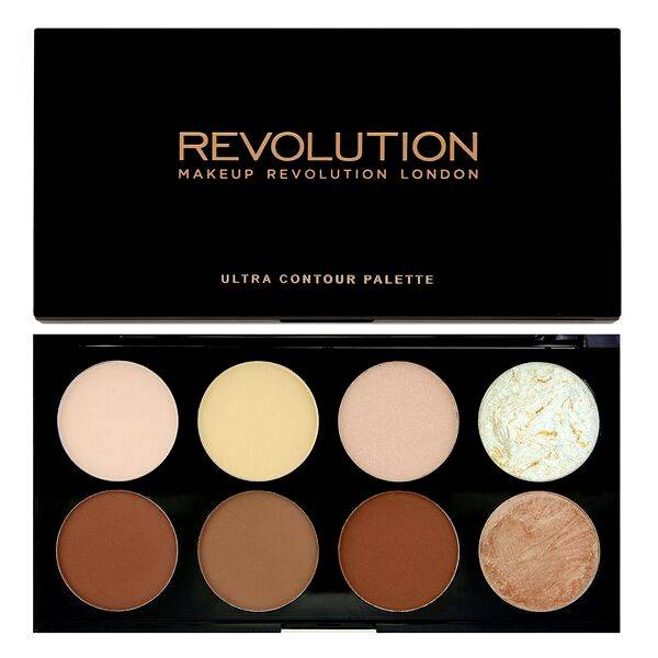 makeup revolution ultra contour palette contourkit make up musthaves. Black Bedroom Furniture Sets. Home Design Ideas