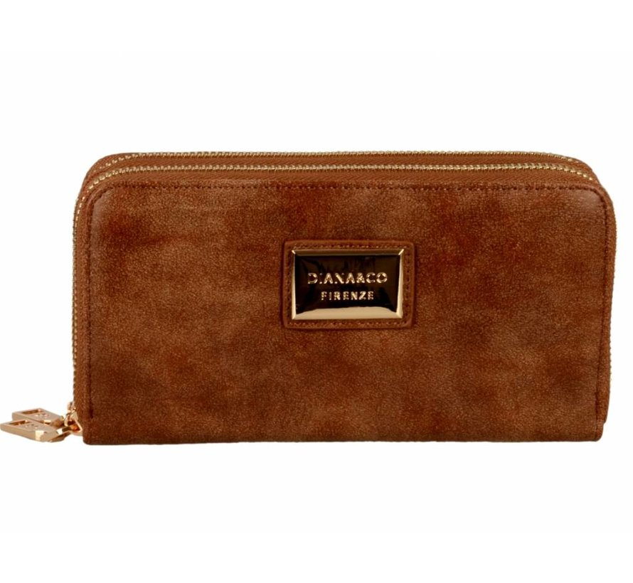 Portemonnee - Beautiful Brown - Eco-Leather