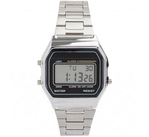 Ernest Vintage Silver - Horloge