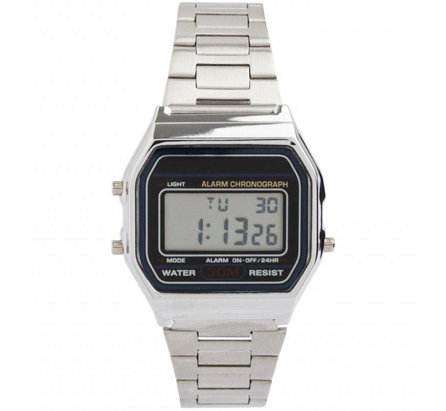 Vintage Silver - Horloge