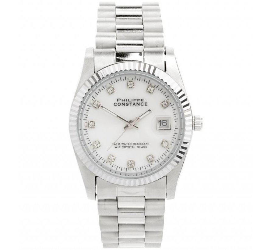 Philippe Constance Bright Silver - Horloge