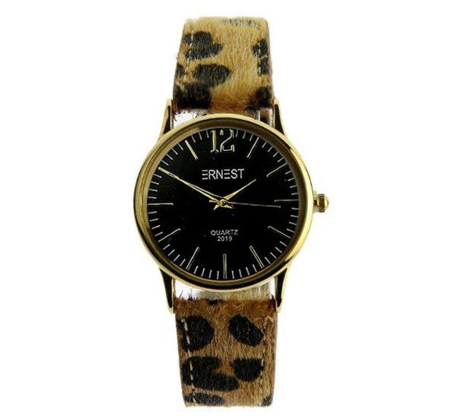 Leo Watch Black - Horloge