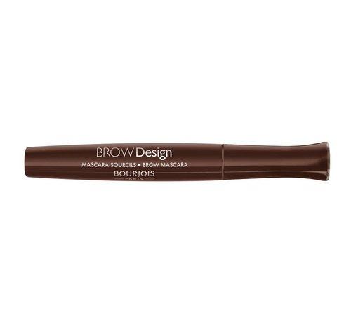Bourjois Brow Design - Chatain - Wenkbrauw Mascara